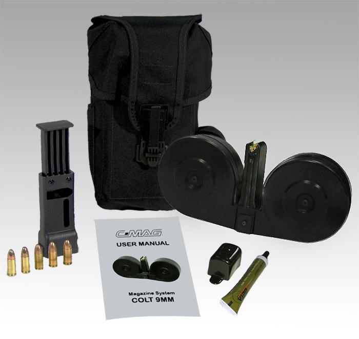 Colt AR 9mm beta C-MAG Twin-Drum 100-Round Magazine