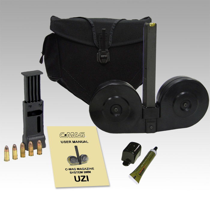 UZI & Uzi Pro 9mm BETA C™ 100 round twin drum