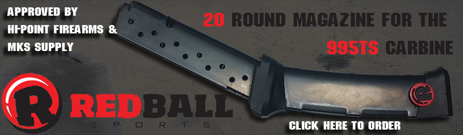 NEW RedBall Hi Point 9mm 20 round Magzine