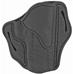 1791 BH2.3 Belt Holster Right Hand Stealth Black Leather