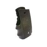 Pearce Grip, Grip, Rubber, Fits 1911 Officer's, Black