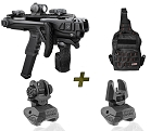 Glock KPOS Scout PRO Kit Fab Defense PDW Conversion Kit