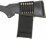 BlackHawk, Buttstock Shell Holder - Open Style, Rifle, Black