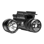NcStar Compact Pistol and Rifle Flashlight Green Laser with Quick Release Weaver Mount (AQPTFLG)