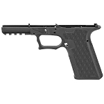 Grey Ghost Precision Stripped Polymer Pistol Frame Black Finish