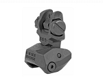 Fab Def Rear Poly Flip-Up Sight BLK