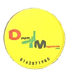 Drummagazines 3 inch Branded patches