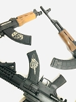 MagPul MOE & Gen M3 AK47  custom engraved mag options  (7.62x39)