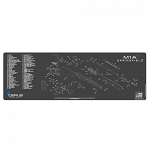 SPRINGFIELD M1A SCHEMATIC RIFLE PROMAT - CHARCOAL GRAY/CERUS BLUE