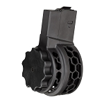 X25 Skeletonized AR10 50 Round .308 Drum Magazine for AR .308 & SR-25