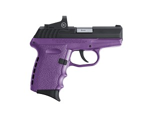 SCCY CPX-2 WITH SCOPE  purple