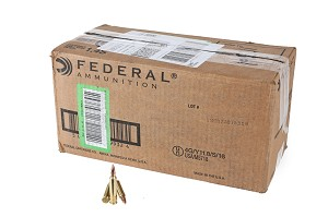 1000 rounds of Federal AMMUNITION - 5.56 Nato (5.56X45MM) - FULL METAL JACKET BOAT-TAIL - 55 GRAIN