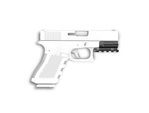 Recover Tactical - Glock 19/17 Gen 3-5 Picatinny Over Rail OR19