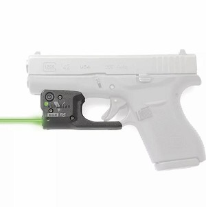 Viridian REACTOR R5 GEN 2 Green Laser Sight For GLOCK 43 R5-GEN2-G43 W/ Holster