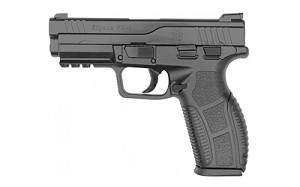 "SDS Imports, Zigana PX-9, Semi-automatic, 9MM, 4"" Barrel, Black Melonite Finish, 18Rd, 2 Magazines, Includes Holster and Mag Loader"