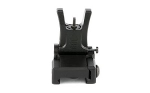 Leapers, Inc. - UTG, Sight, Flip-Up Front Sight, Low Profile, Fits Picatinny, Black Finish