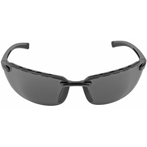 Walker's 8261 Premium Glasses Black Frame Smoke Anti-Fog Lens