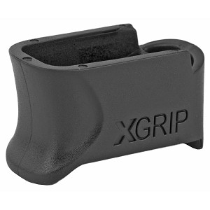 X-GRIP Mag Spacer Black Adapts the ETS 9Rd .380 Magazine