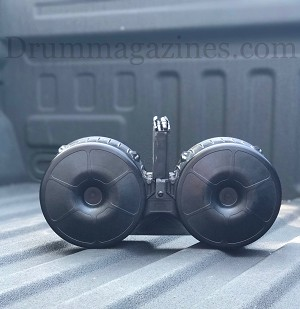 SAW-MAG 150 Round Drum for the AR15