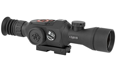 ATN, X-Sight II, Smart HD Optics, 3-14x, Obsidian II Core, Day/Night Mode, 1080 Display, Record Video, Capture Pictures, WiFi, GPS, Black Finis